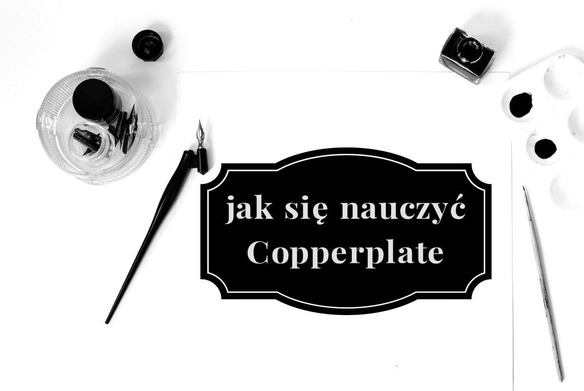 sierysuje.pl Copperplate kursywa angielska