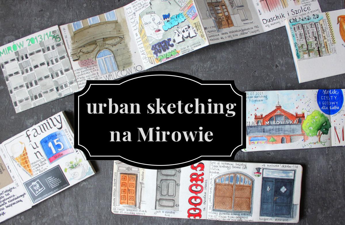 sierysuje.pl urban sketching na mirowie
